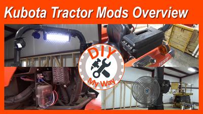 Kubota Tractor ModsOverview