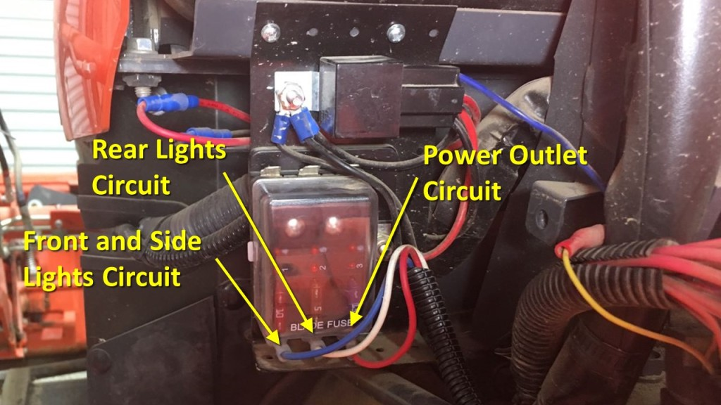 Kubota Tractor Mod: Adding A Fuse Box – DIY My Way | Adding To Fuse Box |  | DIY My Way