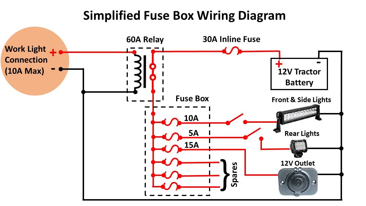 Kubota Tractor Mod: Adding A Fuse Box – DIY My Way [ 720 x 1280 Pixel ]
