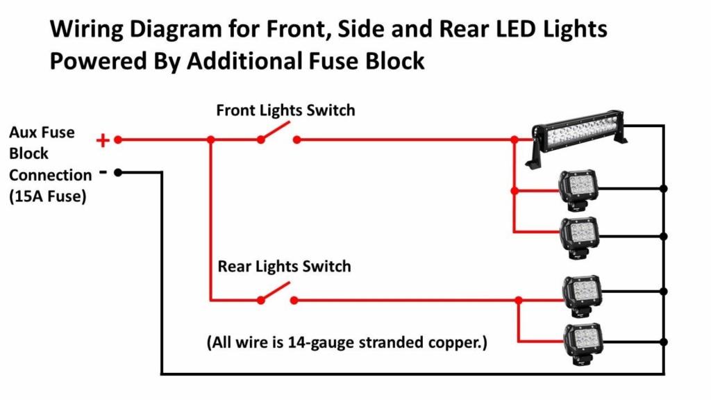 [DIAGRAM_38DE]  Kubota Tractor Mod: ROPS LED Lights – DIY My Way | Wiring Tractor Lights |  | DIY My Way