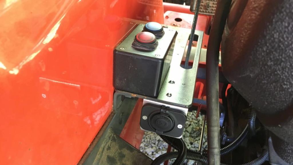 Kubota Tractor Mod: ROPS LED Lights – DIY My Way | Wiring On A Tractor Work Lights |  | DIY My Way