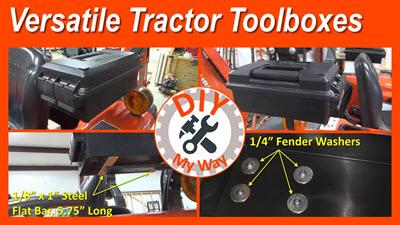 Kubota Tractor Mod:  Versatile TractorToolboxes