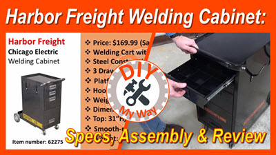 Harbor Freight Welding Cabinet: Specs, Assembly &Review
