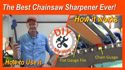 Best Chainsaw SharpenerEver!