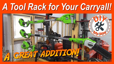Carryall Tool Rack