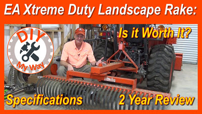 Everything Attachments XTreme Duty Compact Tractor Landscape Rake:  Is It WorthIt?