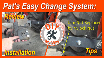 Pat's Easy Change System: Review, Installation &Tips