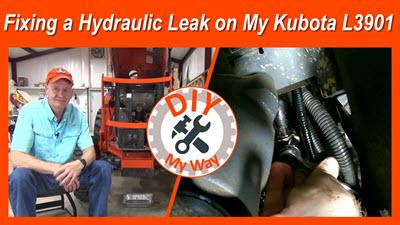 Fixing a Hydraulic Leak on My KubotaL3901