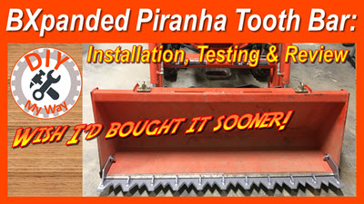 BXpanded Piranha Tooth Bar: Installation, Testing and Review