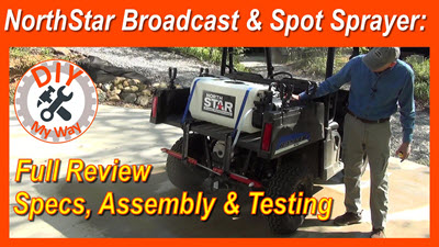 NorthStar ATV Broadcast and Spot Sprayer Review: Specs Assembly &Testing
